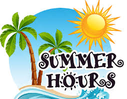 Summer Office and Library Hours